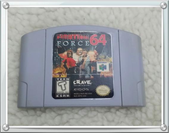 Jogo Fighting Force 64 Nintendo 64 Original Americano