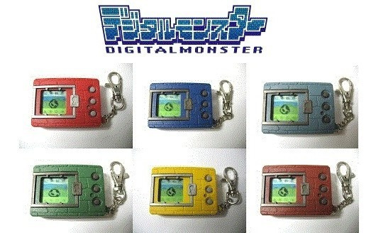 Tamagotchi Digimon Lançamento 2019 Bandai Várias Cores
