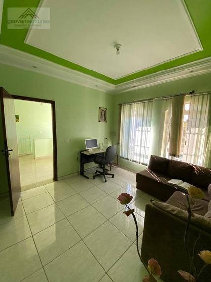 Sobrado Com 3 Dormitórios, 240 M² - Venda Por R$ 600.000,00 Ou Aluguel Por R$ 3.000,00/mês - Jardim Ouro Verde - Limeira/sp - So0097