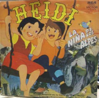 Heidi La Niña De Los Alpes - Lp - Vinilo