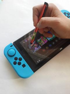 Lapiz Para Super Mario Maker 2 Optico Tactil Nuevo Switch.