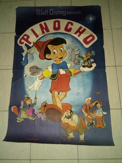 Póster Pinocho Película