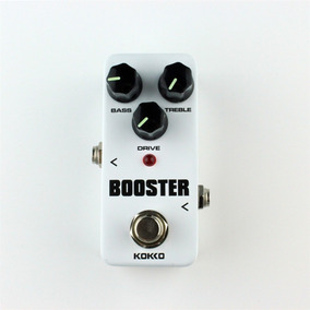 Mini Pedal Booster Overdrive Para Guitarra Kokko