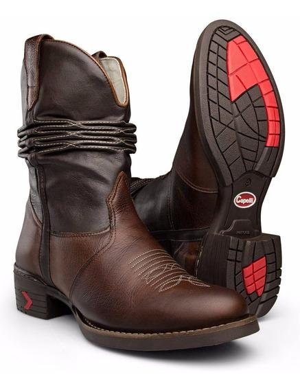 Bota Texana Country Masculina Sanfonada - Capelli Boots