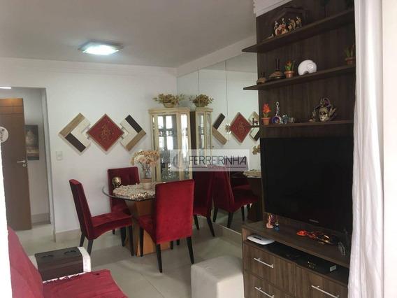 Apartamento Residencial À Venda, Jardim São Dimas, São José Dos Campos. - Ap3022