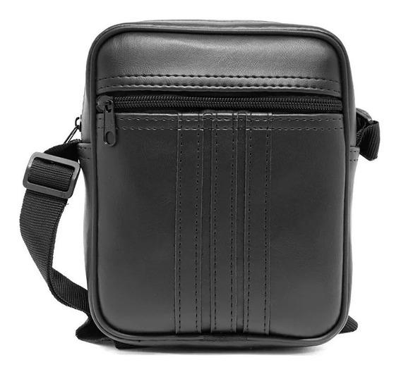02 Bolsas Bag Couro Ecológico Impermeável E Tiracolo 449