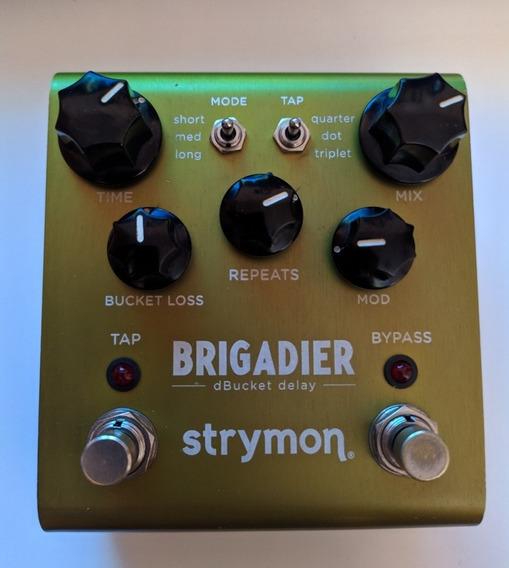 Strymon Brigadier Delay Timeline El Capstan