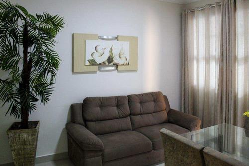 Imagem 1 de 10 de Apartamento Com 2 Dorms, Itararé, São Vicente - R$ 265 Mil, Cod: 1290 - V1290