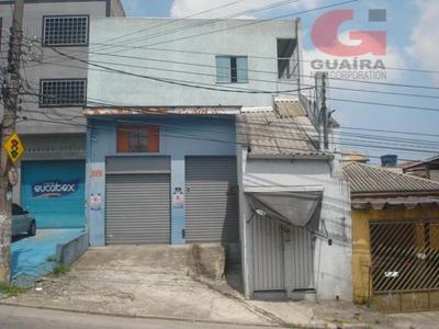 Galpão Comercial Para Locação, Taboão, Diadema - Ga1477. - Ga1477