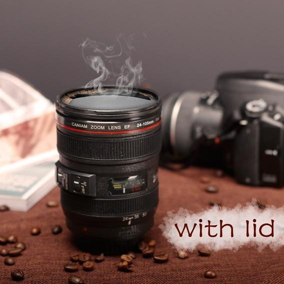 Nova Câmera Caniam Slr Lente 24-105mm 1:1 Escala Plástico Ch
