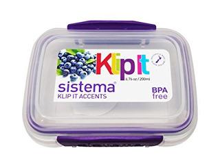 Sistema Klip It Accents 676 Onces 200 Ml Reutilizable Stacka