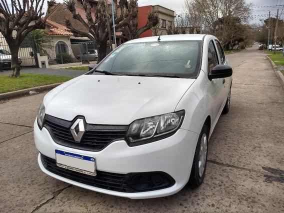 Renault Logan Authentique Plus Full 1.6 2018 Con Gnc De 5ta.