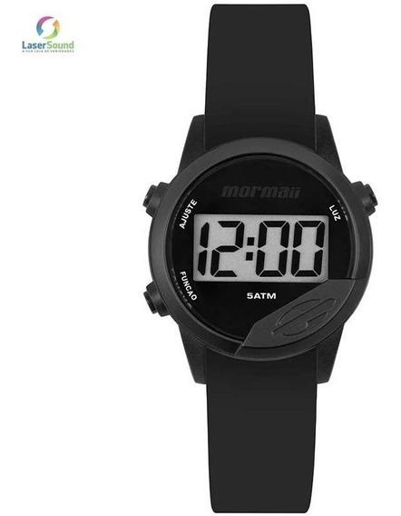 Relógio Digital Mormaii Unissex Preto Mo4100aa8p