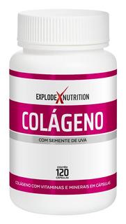 Colágeno Explode Mix De Vitaminas E Minerais 120cáps