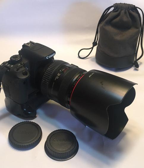 Lente Canon 24-70 Mm F.2.8 Linea Roja 899 V.e.r.d.e.s.