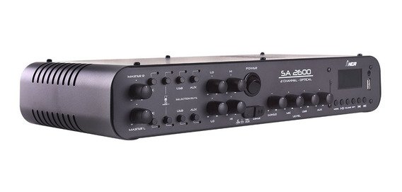 Amplificador Som Ambiente Sa 2600 Optical Bluetooth - Nca