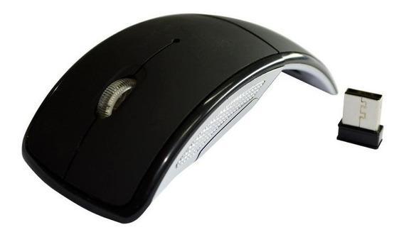 Mouse Sem Fio Arc Preto 372