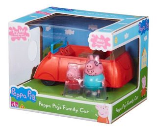 Peppa Pig Carro Rojo Familiar (con Sonido) Toy Option Far Ea