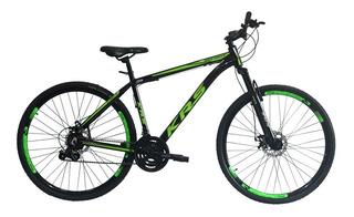 Bicicleta 29 Alumínio 24v Câmbios Shimano Hidráulico Krs