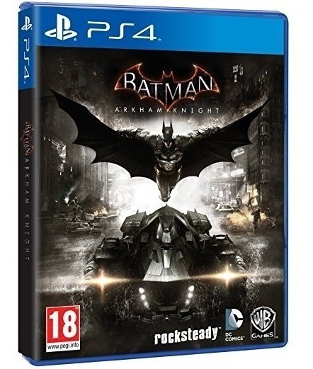 Jogo Batman Arkham Knight Ps4 Mídia Física Novo Nacional Br