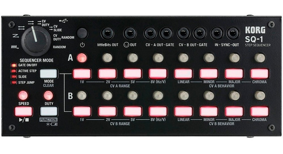 Korg Sq-1 Step Sequencer Módulo Sequenciador Analógico Volca