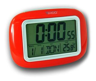 Reloj Despertador Con Luz, Temperatura+calendario Dd-r