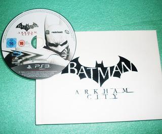 Batman Arkham City Ps3 Juego + Libro A 99 Soles