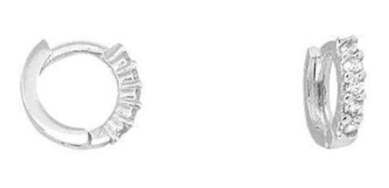 Brinco Argola 8 Mm Prata 925 Mini Pequena Piercing