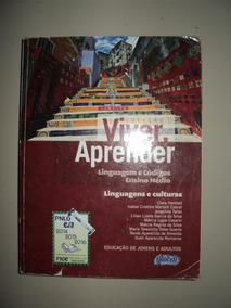 Livro - Viver E Aprender Liguagens Cultura Ensino Medio F20