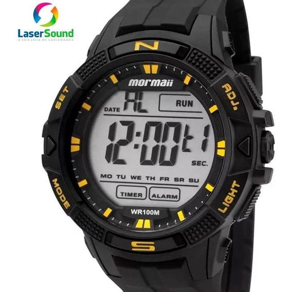 Relógio Mormaii Masculino Mo5001/8y, C/ Garantia E Nf