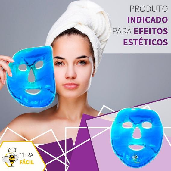 Máscara Térmica De Gel Facial Para Rosto Santa Clara