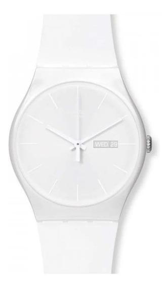 Reloj Swatch White Rebel Suow701 Mujer Envio Gratis