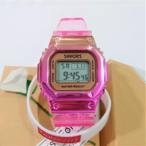 Relógio Feminino Led Digital Relógio Top Moda