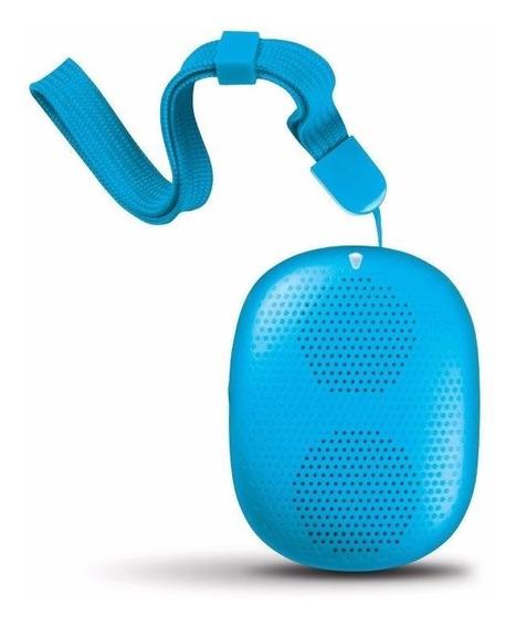 Caixa De Som Isound Popdrop Bluetooth - Azul