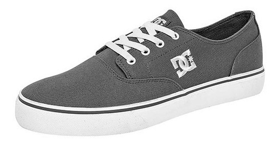 Tenis Dc Shoes Flash 2 Tx Gris Tallas #27 A #29 Hombre