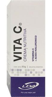 Lda Vita C Crema Nutritiva 30g Vitamina C Antiedad Arrugas