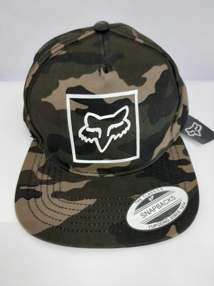 Gorra Fox Camuflada