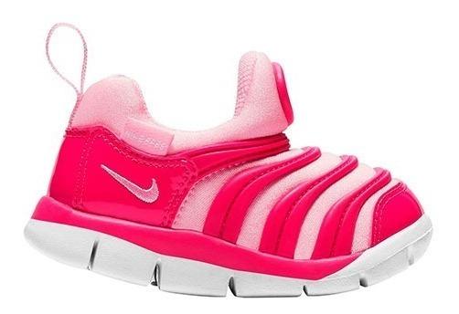 Nike Dynamo Free (td) 343938-626 Fucsia-rosa Kids Oi