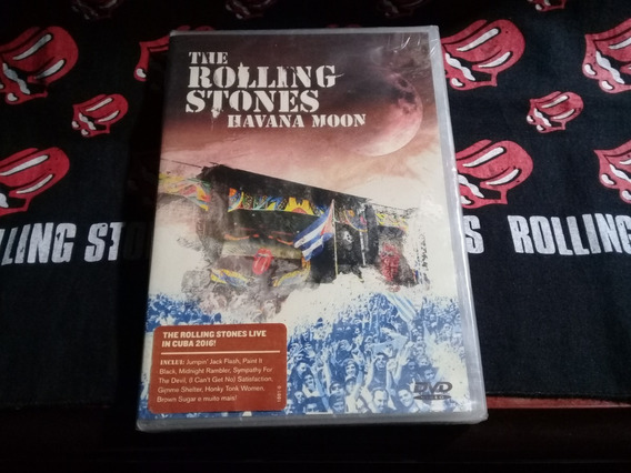 Dvd Rolling Stones - Havana Moon Novo!!!