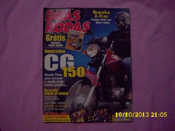 Revista Duas Rodas Nº 341 Lançamento Cg 150 Titan 2005