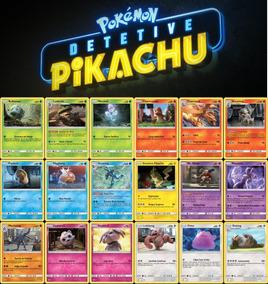 Detetive Pikachu Coleção Completa Português Br Pokémon Tcg