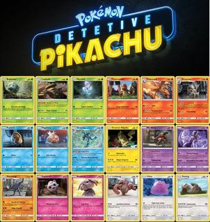 Coleção Completa Detetive Pikachu Português Br Pokémon Tcg
