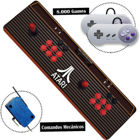Fliperama Portátil 8000 Jogos Hdmi 5m Arcade Só Ligar Na Tv
