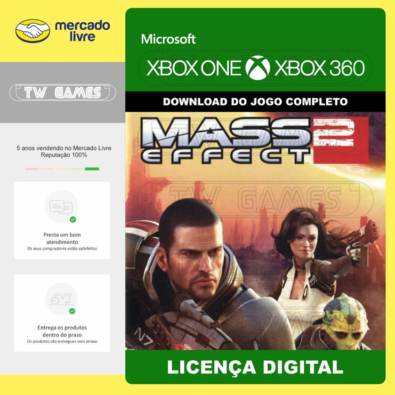 Mass Effect 2 Digital Retrocompativel Xbox One Xbox 360