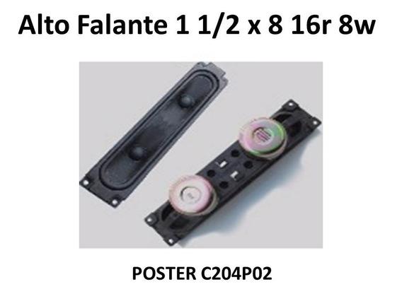 50x Alto Falante Blindado Foster 20 X 4cm 16r 8w C204p02