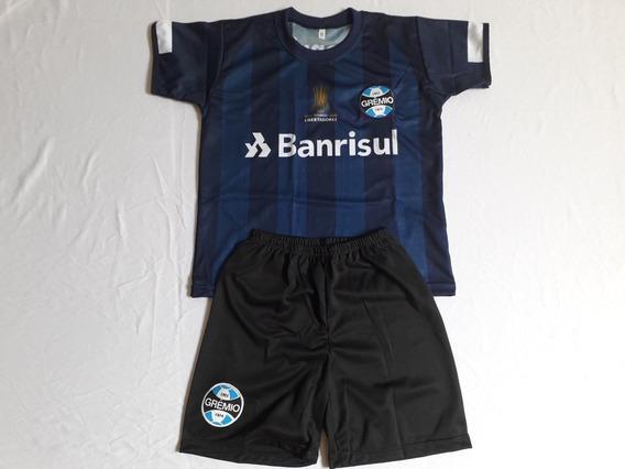 Conjunto Infantil Gremio Azul Escuro