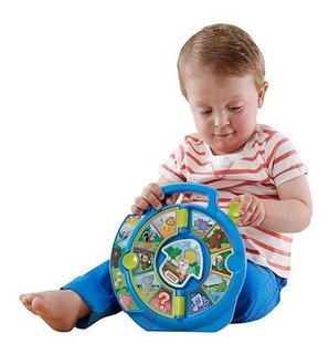 Didáctico Bebes Musical Juguete Fisher Price Jugueteria Orig