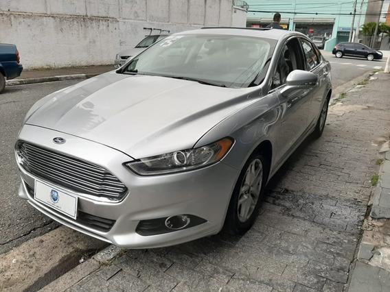 Ford Fusion 2.5 Flex Com Teto 2015 Prata