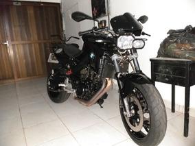 Bmw F800r Preta 2014
