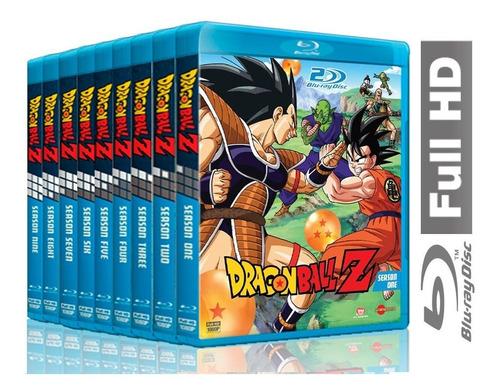 Dragon Ball Z Serie, Filmes E Especiais Completo Em Blu-ray